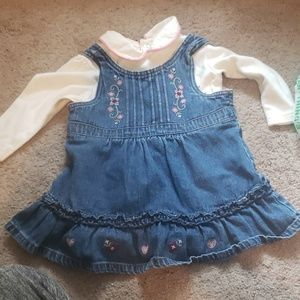 Girls 18 month jean dress